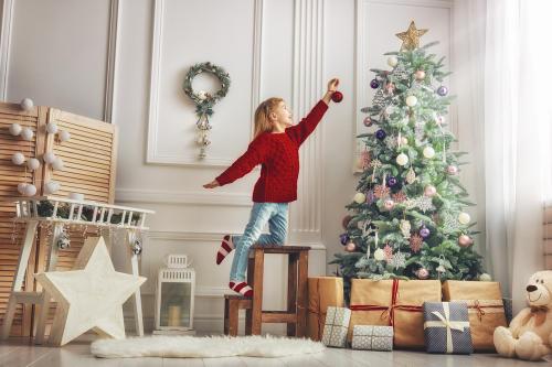 Ideas para adornar árboles de Navidad alternativos y ecológicos