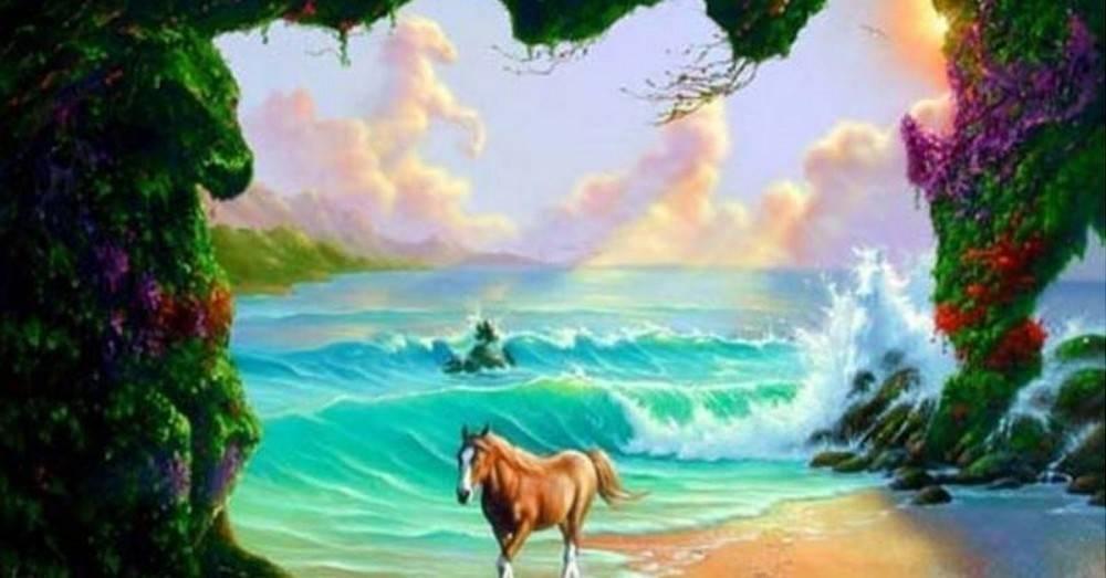 Pon tu mente a prueba, ¿puedes hallar los seis caballos que están escondidos..