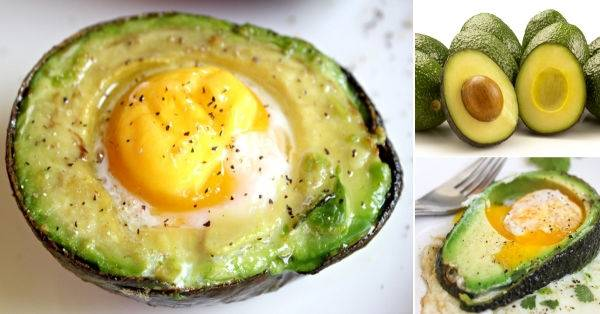 Snack natural y simple con aguacate