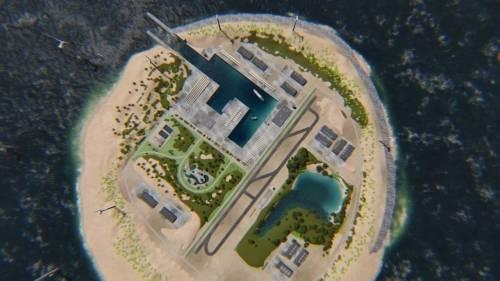 ¿Islas artificiales para generar energía limpia?