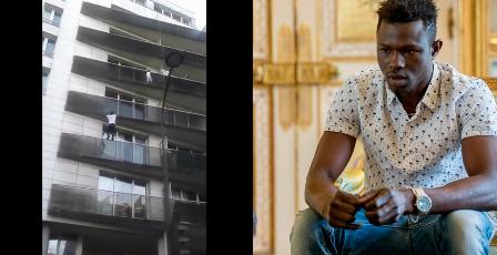 El héroe de París: la historia del hombre que trepó 4 pisos por los balcone..