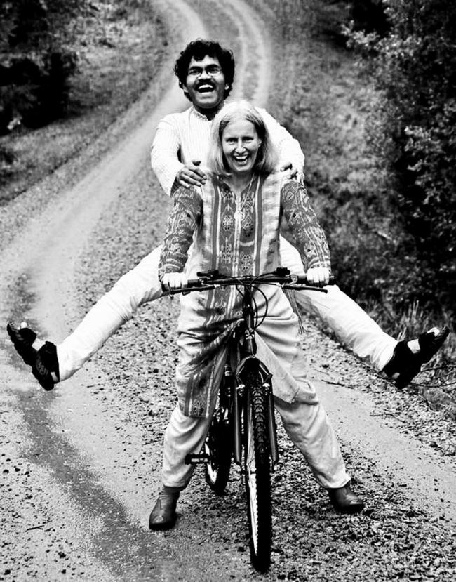 Viajó 4 meses y 3 semanas en una bicicleta de segunda mano de Nueva Delhi a Gotemburgo