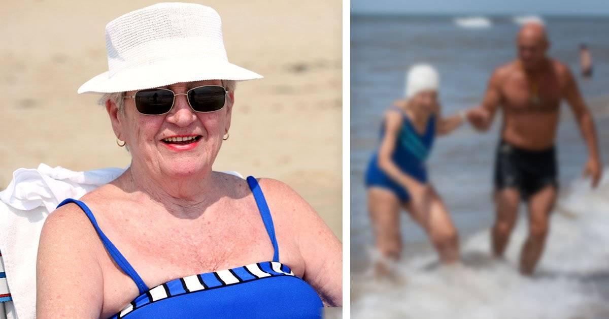 Tiene 106 años y bebe agua de mar todos los días