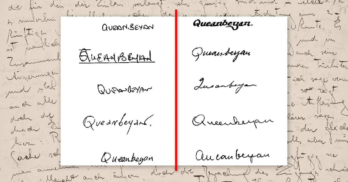 Cosas que puedes saber rápidamente sobre la personalidad de alguien al ver su letra escrita