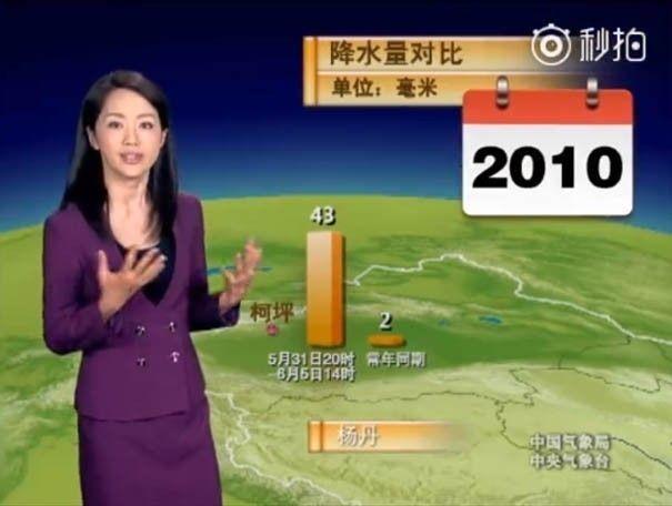 presentadora china