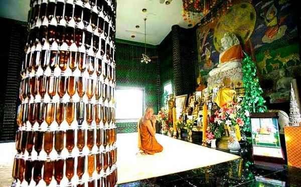"""Un templo inusual que """"piensa en verde"""""""