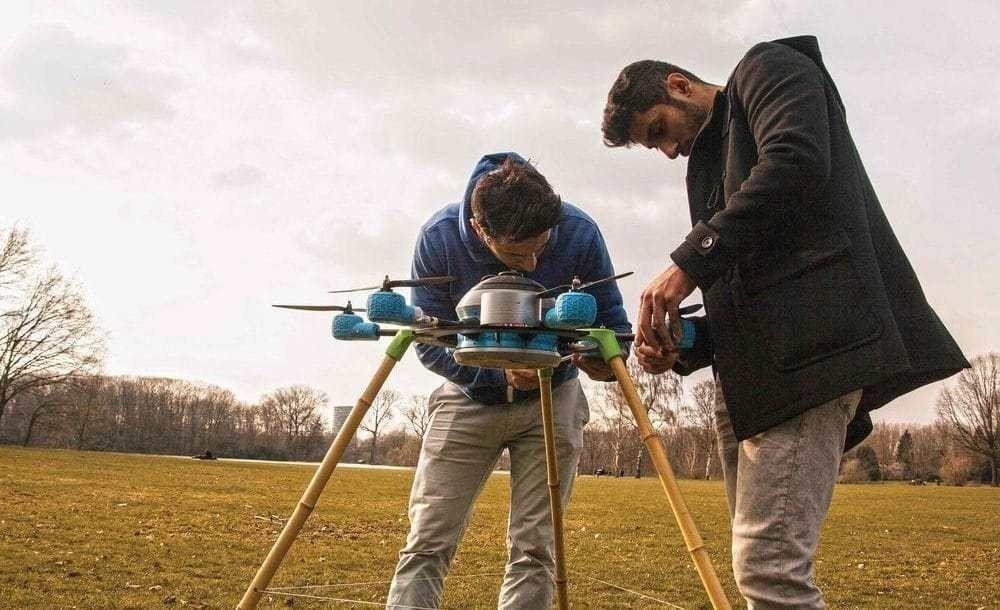 dron minas
