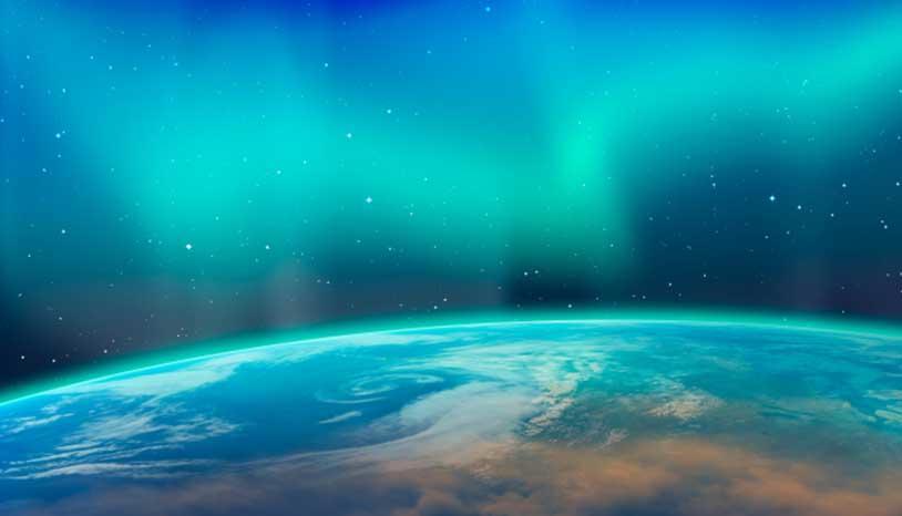 Astronautas comparten impresionantes imágenes de las auroras boreales
