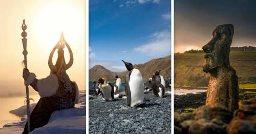Conoce los destinos más remotos del planeta