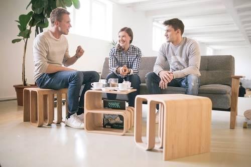 Una silla multifuncional que se adapta a cualquier uso y ambiente