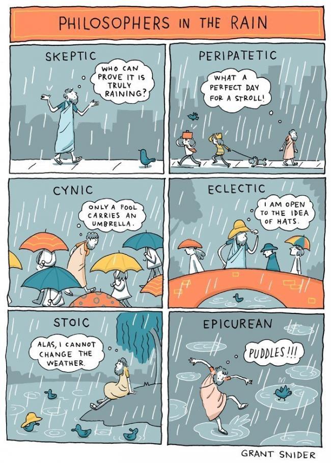 lluvia filosofía