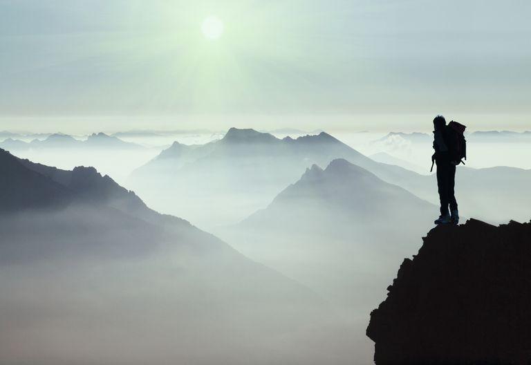 montaña paciencia
