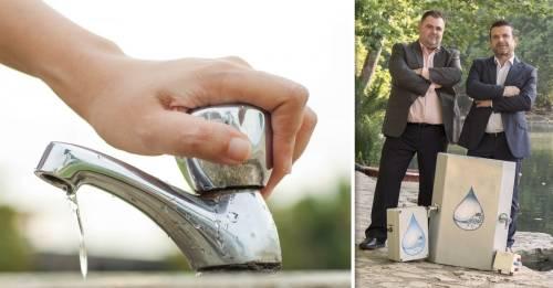 Dos fontaneros inventaron un sistema para ahorrar el 40% del agua que se consu..