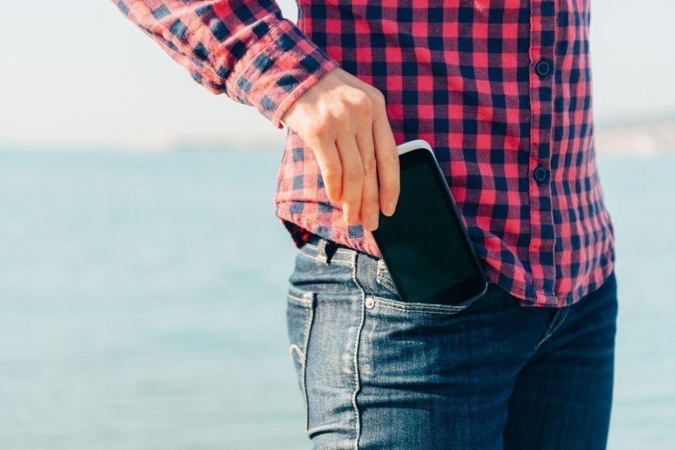 smartphone - lugares dónde no deberías guardar tu smarphone