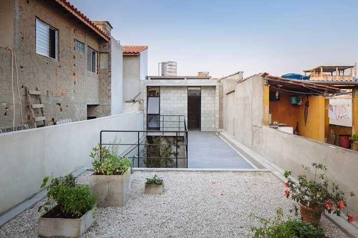terraza casa pequeña