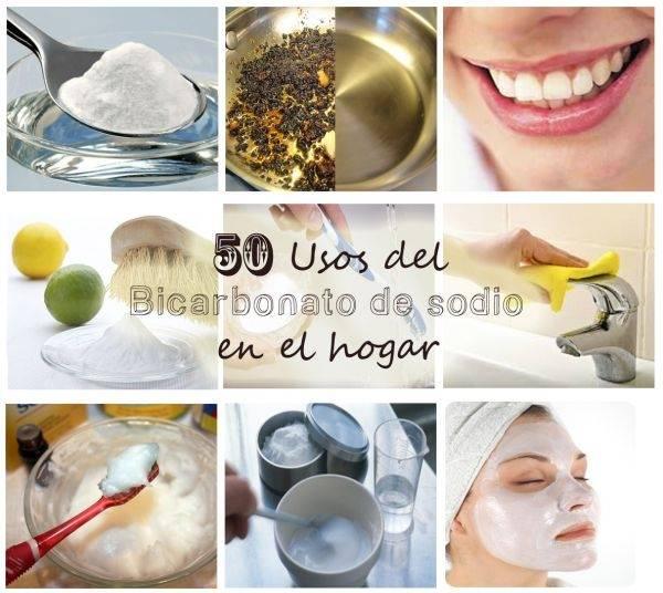 50 Asombrosos Usos y Beneficios del Bicarbonato de Sodio