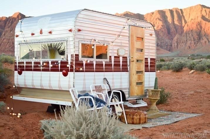Cómo transformar un viejo trailer en una casa rodante