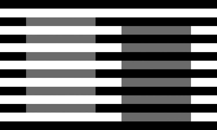 ilusión de white ilusión óptica