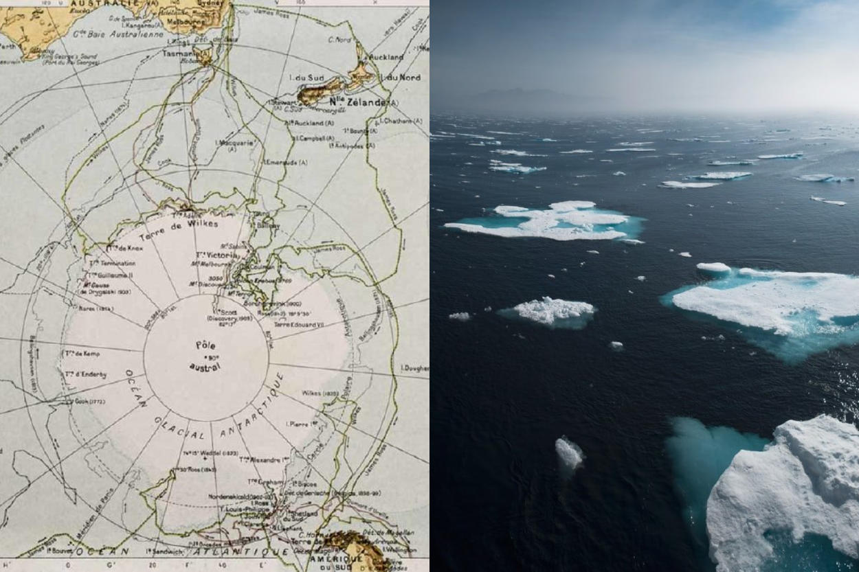 El Océano Austral es reconocido oficialmente como el quinto océano  por National