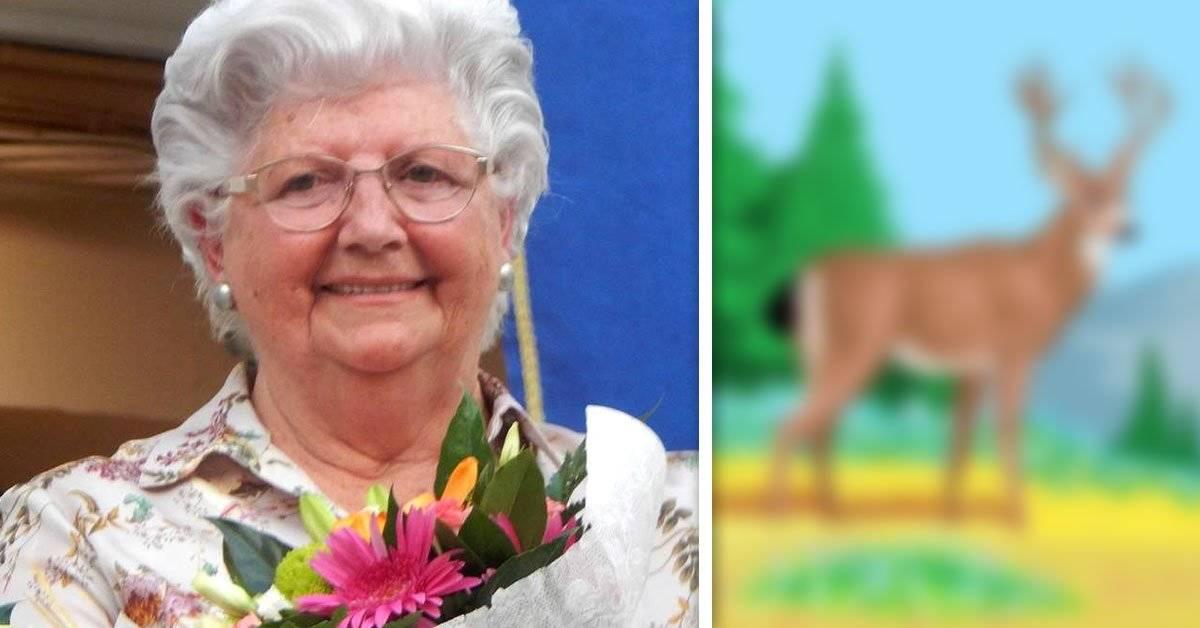 Esta abuela hace los mejores cuadros... ¡Usando el paint! Y hoy es furor de las redes