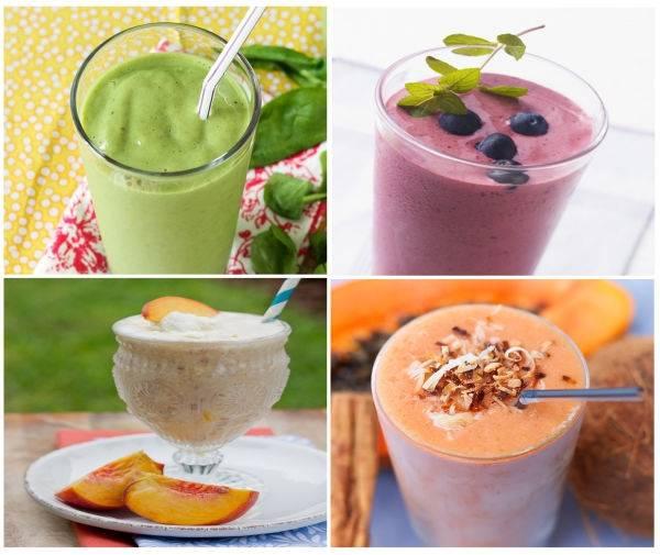 10 recetas de smoothies (batidos) para tener un día súper enérgico