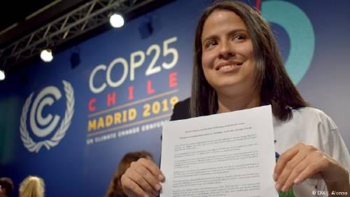 COP25: los activistas latinoamericanos, inspirados por Greta