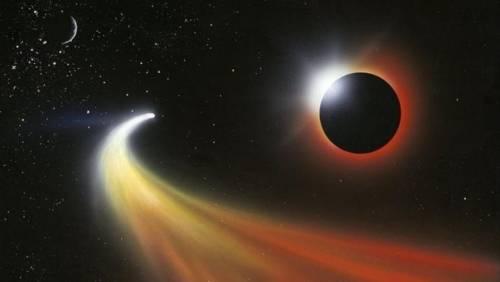 Detectan por primera vez un cometa que podría venir de otra galaxia