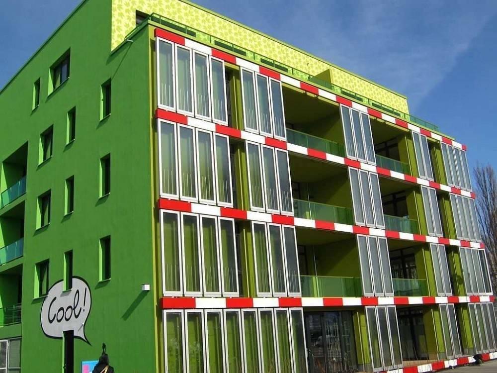 Un edificio en Alemania que funciona con energía de las algas