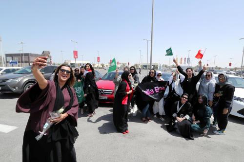 ¡Histórico! Ahora las mujeres sauditas podrán formar parte del ejército