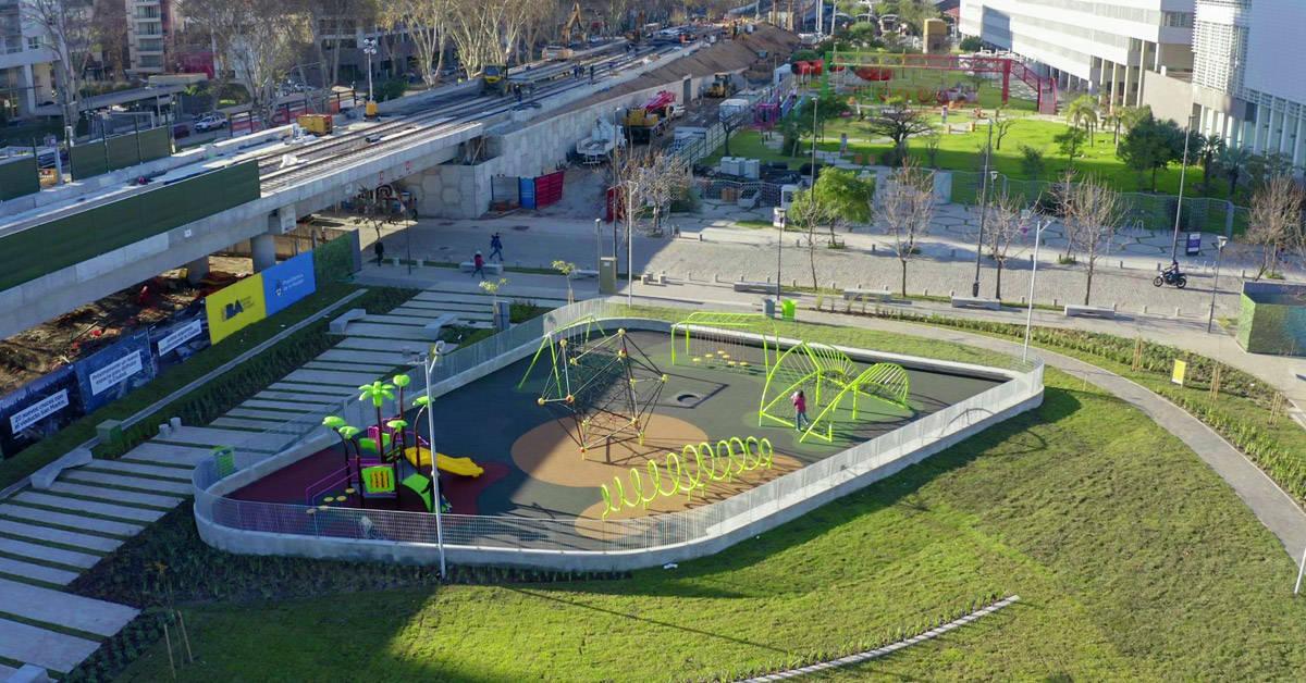 Parque Ferroviario Palermo: un nuevo espacio verde público para disfrutar en la