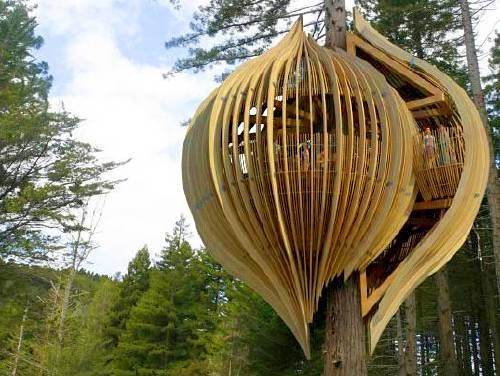 Casas de árbol maravillosas