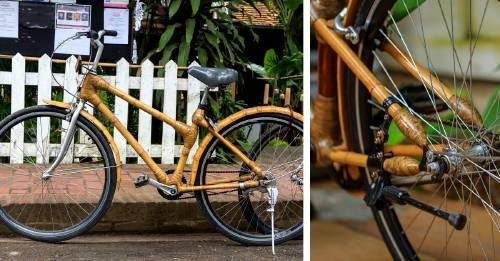 Esta mujer transformó su comunidad con bicicletas de bambú