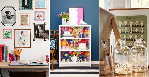 17 ideas econ micas para decorar y darle vida a tu hogar for Como decorar una habitacion sencilla y economica