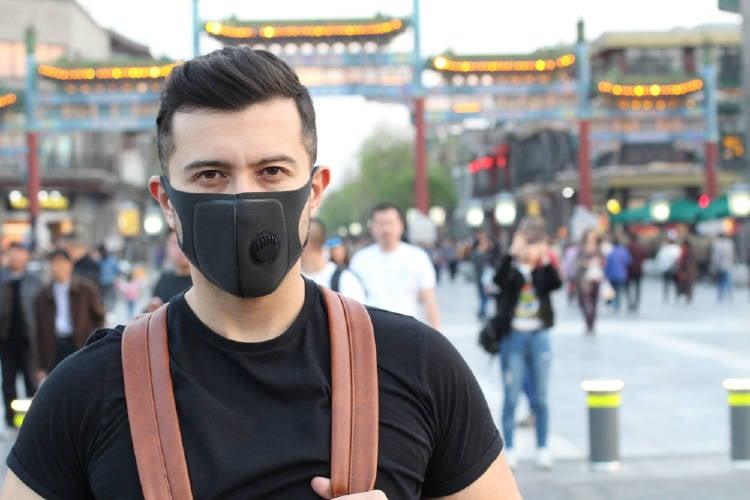 mascara contaminación