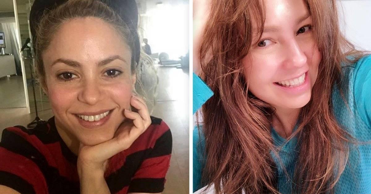 10 celebridades que no le tienen miedo a mostrar sus caras sin maquillaje