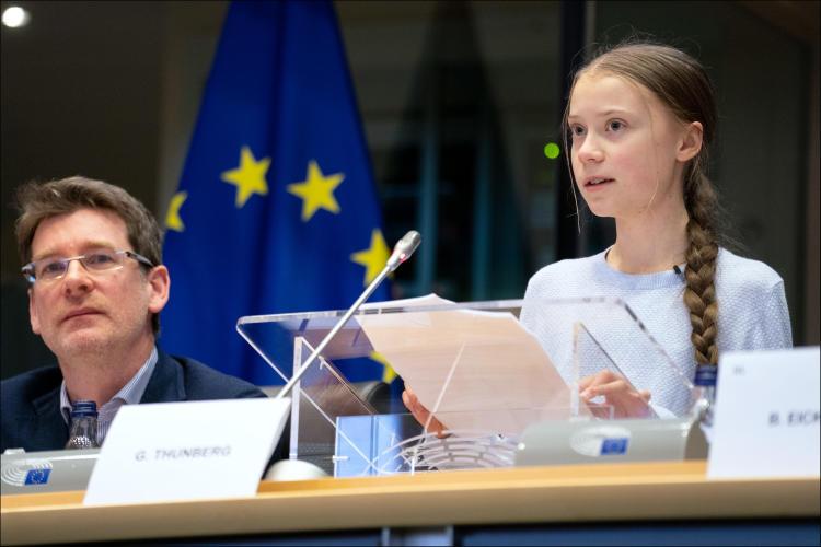 Greta Thunberg acusó a los líderes mundiales por su accionar ante la crisis climática