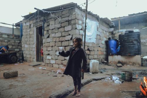 pobreza agua