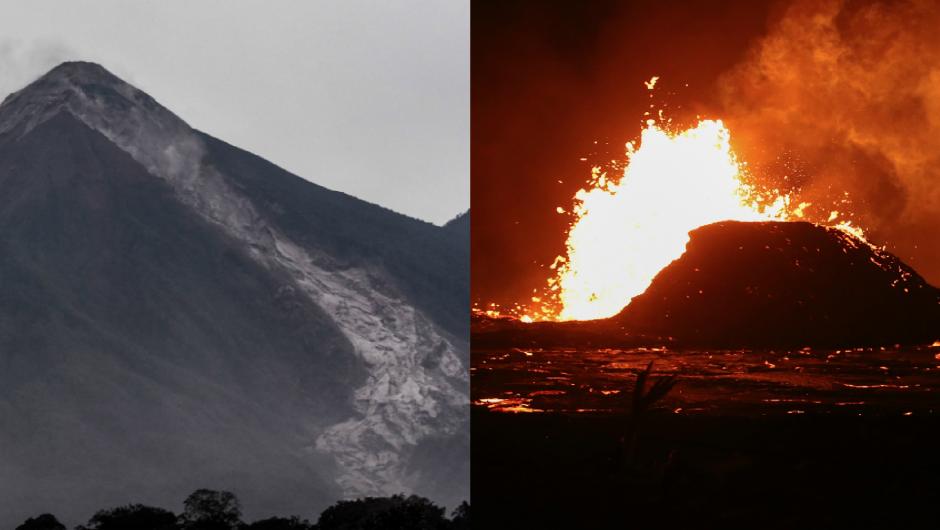 ¿Por qué la erupción del volcán en Guatemala es tan diferente a la de Haw