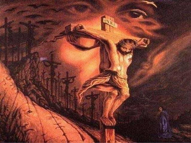 ¿Cuántas veces en la imagen puedes ver a Jesús? Tu respuesta indica tu nive..
