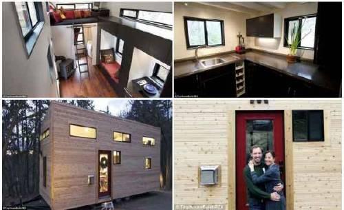 La casa sobre ruedas en 20 mts cuadrados de Andrew y Gabriela Morrison