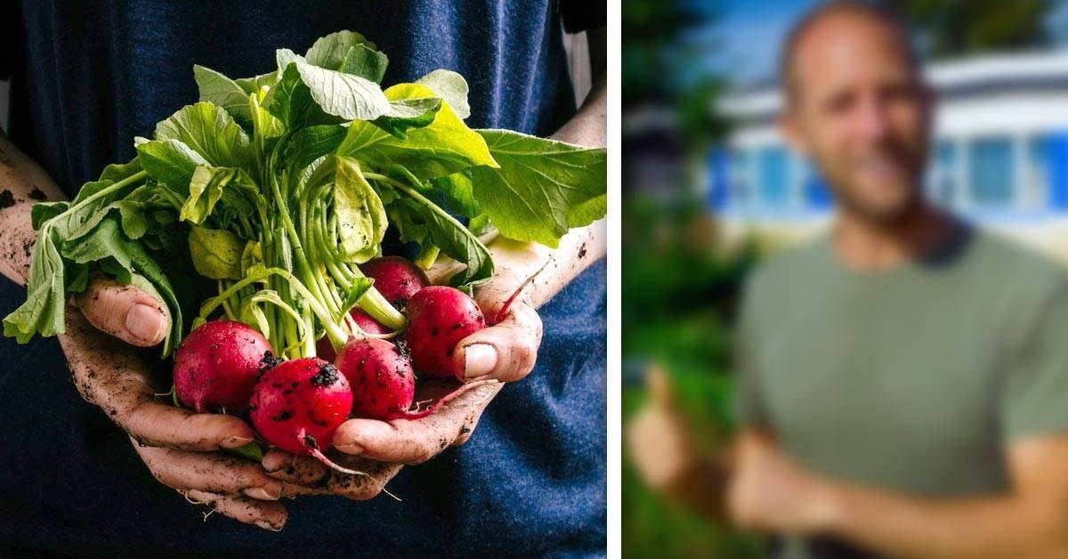 Conoce al hombre que hace un año que solo come lo que recolecta o cultiva