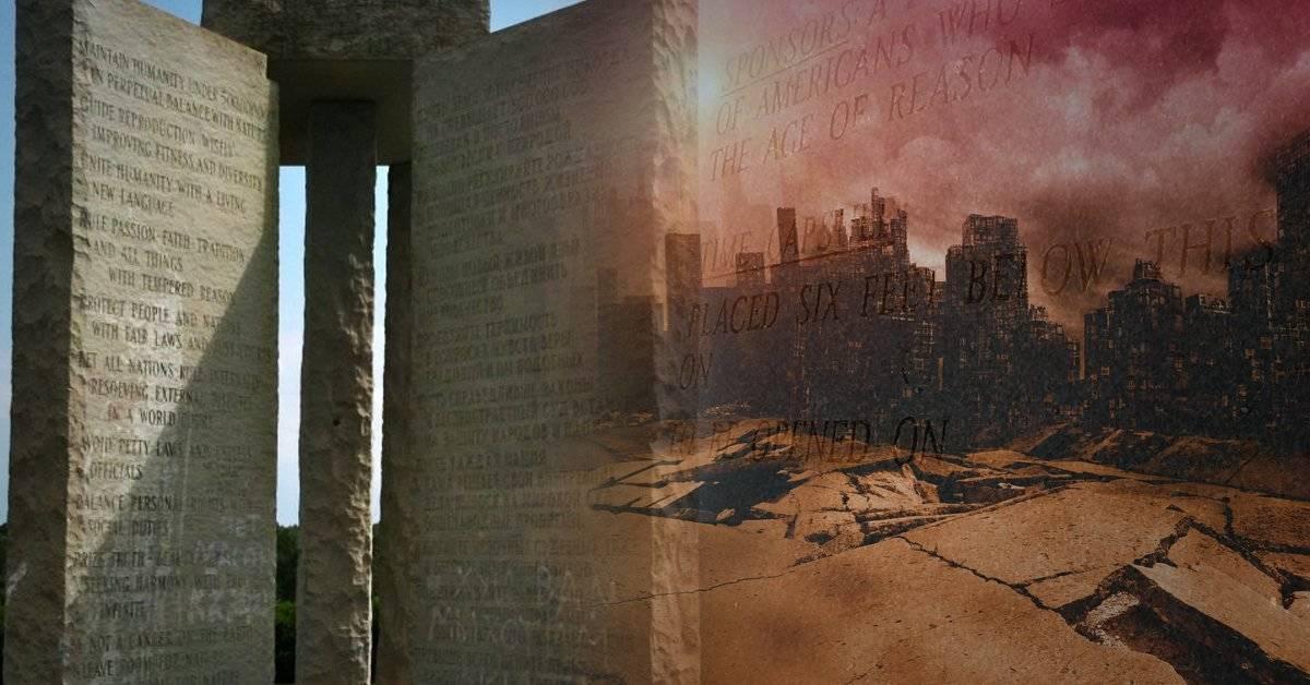 Las misteriosas piedras que contienen instrucciones para reconstruir la sociedad después del apocalipsis