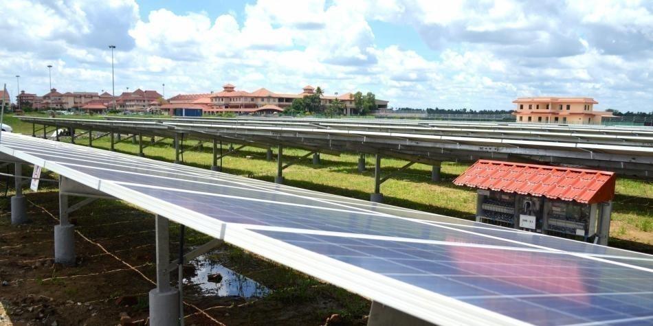 Aeropuerto de Cochin Energía solar- energías renovables