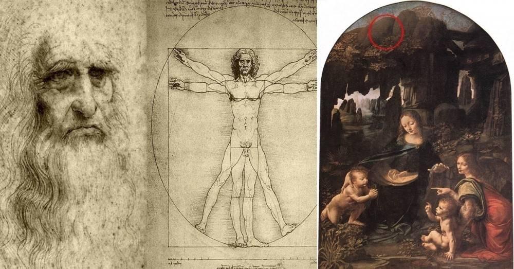 Descubren un mensaje oculto en un cuadro de Leonardo da Vinci