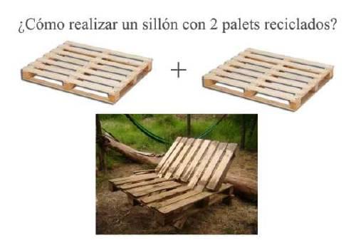 Sillones Con Palets Paso A Paso.Como Realizar Un Sillon Con 2 Palets Bioguia