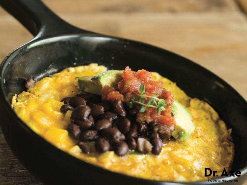 pérdida de peso omelette