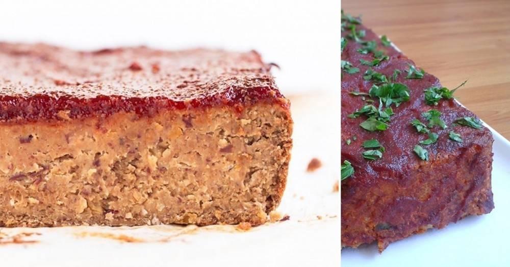 """Increíble receta: pastel \""""de carne\"""" vegano... ¡y sin gluten!"""