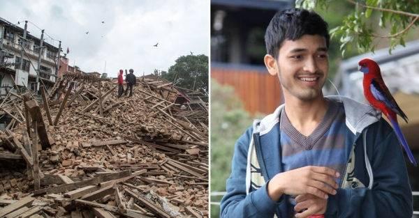 Tras el terremoto de Nepal: Un joven y un acto de gran solidaridad