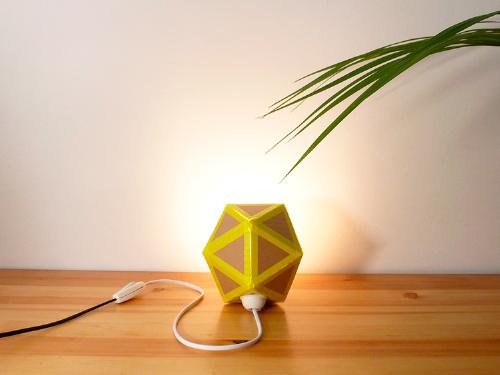 Cómo hacer una lámpara origami