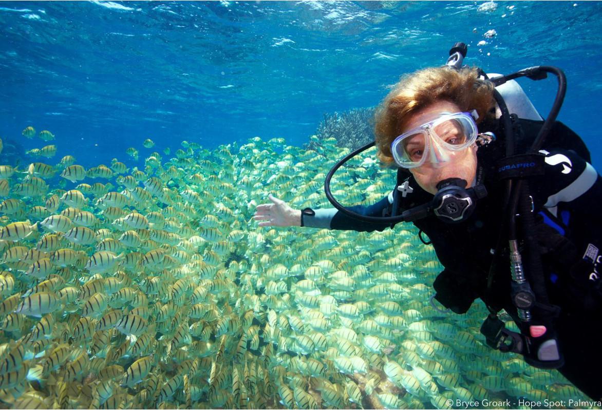Sylvia Earle, una pionera de la exploración submarina